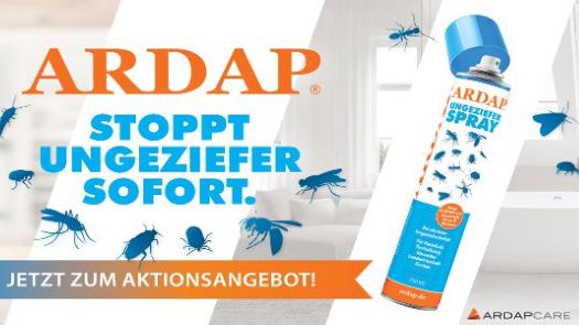 ARDAP Ungezieferspray zum Aktionspreis